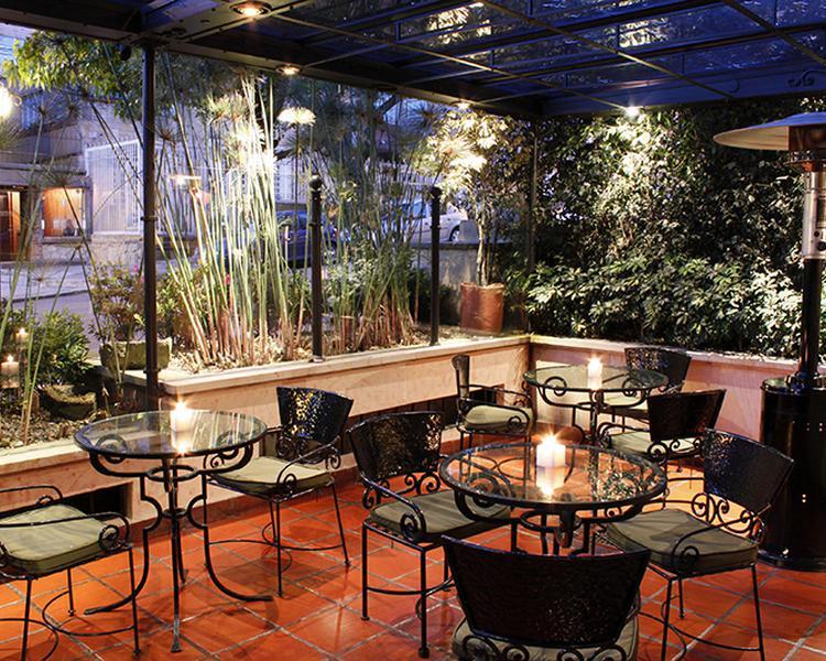 TERRAZA Hotel ESTELAR Suites Jones Bogotá